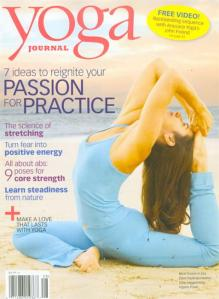 Capa da Revista Yoga Journal