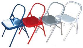 Cadeiras para a prática de Iyengar Yoga
